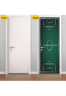 Adesivo De Porta Campo De Futebol (0,80M X 2,10M)