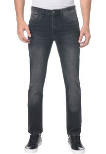 Calça Jeans Five Pocktes Slim Ckj 026 Slim - Preto - 40