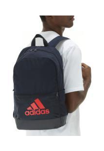 Mochila Adidas Classic Bos - Azul Esc/Vermelho