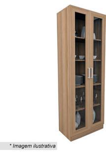 Armário Para Escritório Office Plus Com Portas- Castanhoappunto Móveis