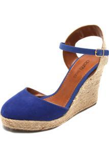Sandália Dafiti Shoes Espadrille Azul