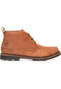 Bota Masculina Leather Chukka - Marrom
