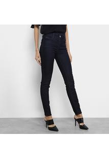 acbee3ffe ... Calça Jeans Skinny Colcci Fátima Cintura Alta Feminina - Feminino-Preto