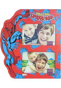 Painel Marvel Spider P/ 4 Fotos 10X15Cm