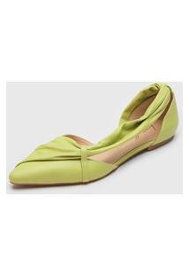 Sapatilha Luiza Barcelos Assimétrica Verde