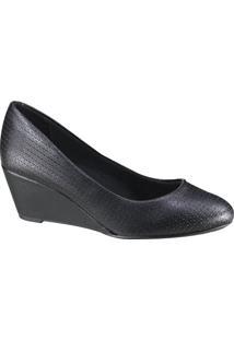 Sapato Beira Rio Conforto Anabela Feminino
