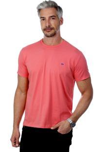 Camiseta Javali Slim Coral