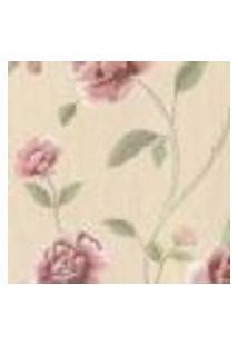 Papel De Parede Italiano Corte Antica 8202 Vinílico Com Estampa Contendo Floral
