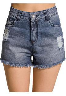 Shorts Jeans Desfiado Handbook