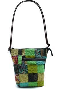 Bolsa Grace Clover Em Patchwork Original - Multicolorido - Feminino - Dafiti