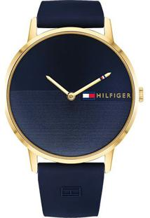 025786c4d85 Relógio Digital Azul Tommy Hilfiger feminino