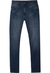 Calça John John Skinny Navarino Jeans Azul Masculina (Jeans Medio, 40)