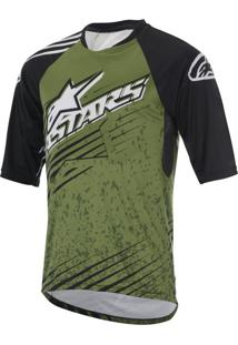 Camisa Alpinestars Sight Mercury Verde