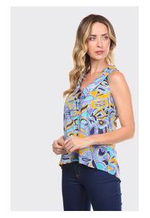 Camisa Adulto Azul - Thipton - P