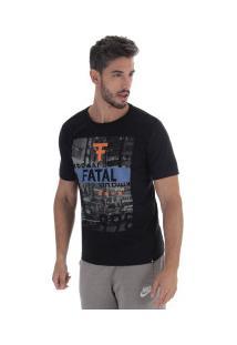 Camiseta Fatal Estampada 17652 - Masculina - Preto