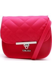 Bolsa Colcci Matelassê Pink