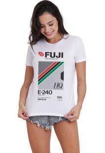 Camiseta Jay Jay Básica Fuji Branca Dtg