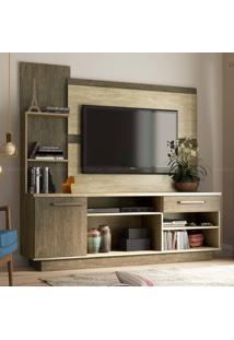 Estante Home Theater Para Tv Até 55 Polegadas Es219/1 Acácia/Freijó - Decibal