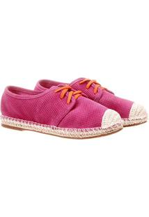 Tênis Lilly'S Closet Corda Furinhos - Feminino-Pink