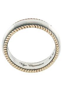 Ugo Cacciatori Mixed Ring - Metálico