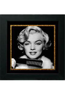 Quadro Decorativo Marilyn Ll Preto