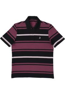 ... Camisa Polo Tassa Regular Listrada Masculina - Masculino-Lilás 9d24b48fe27e7