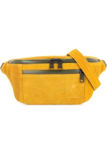 As2Ov Pochete De Camurça - Amarelo