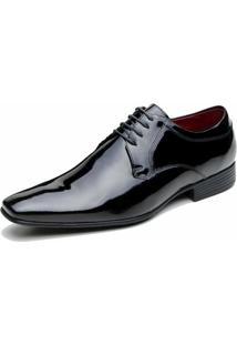 Sapato Social Veneza Verniz - Masculino