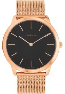 Relógio Calvin Klein K3M2T621 Cobre