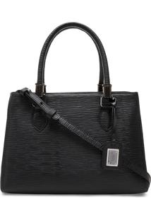 Bolsa Feminina Corello Shoulder Bag Raiz Couro Preto