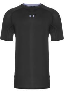 Camiseta Masculina De Compressão - Preto
