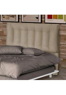 Cabeceira 160 Cm Conforto 00281.0375 Caramelo/Suede Pena - Matrix