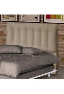 Cabeceira Casal 160 Cm Conforto 00281.0375 Caramelo/Suede Pena - Matrix