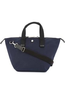 Cabas Bolsa Tote Pequena 'Bowler' - Azul