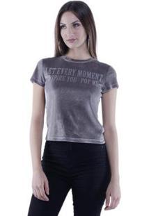 Camiseta Veludo Pop Me Feminina - Feminino