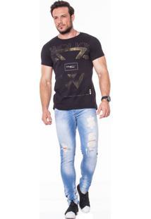 Camiseta Wolke Gola Careca Experience