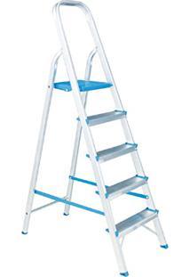 Escada Residencial De Alumínio Alumasa 5 Degraus