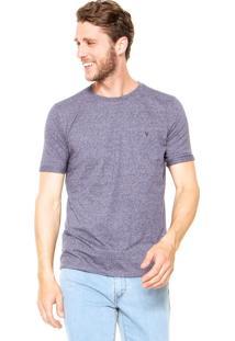 Camiseta Vr Estampada Azul