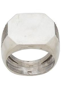 Emanuele Bicocchi Signet Ring - Prateado
