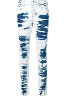 Stella Mccartney Calça Jeans Skinny Tie Dye - Azul