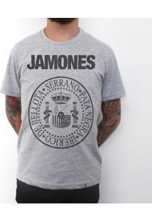 Jamones - Camiseta Clássica Masculina