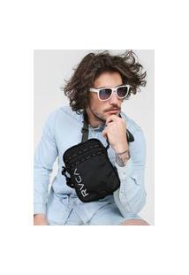 Bolsa Rvca Shoulder Bag Utility Reflective Preta