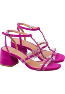 Sandália Saltare Naomi Feminina - Feminino-Pink
