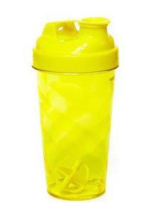 Coqueteleira Amarela Com Tampa E Batedor Amarelo Sandic