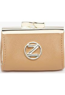 """Porta Moedas """"Z""""- Marrom- 9X7X6Cmarezzo & Co."""