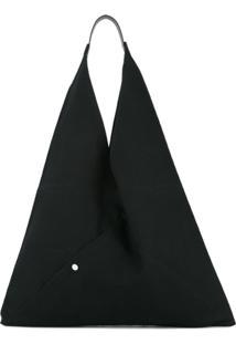 Cabas Bolsa Tote Grande - Preto