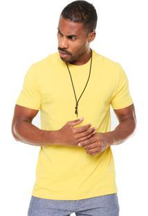 Camiseta Hering Reta Amarela