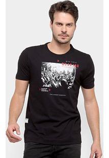 Camiseta Forum Give Life A Meaning Masculina - Masculino-Preto