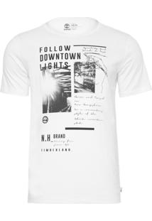 Camiseta Masculina Downtown - Branco