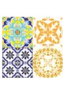 Adesivos De Azulejos - 16 Peças - Mod. 28 Grande